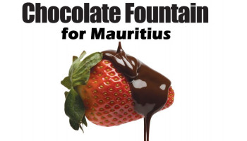 Chocolate Fountain & Fondue . All Items you get at X-Klusiv Wedding Service Mauritius