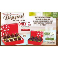 Dip Fruit Box 6-count box